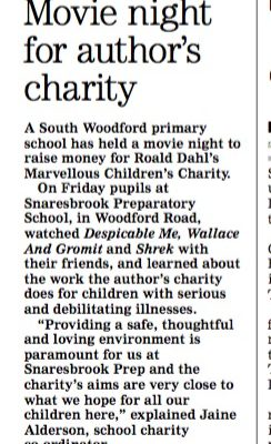 Movie Night for Author's Charity