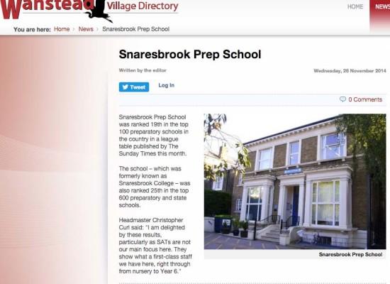 The Sunday Times 100 Prep Schools