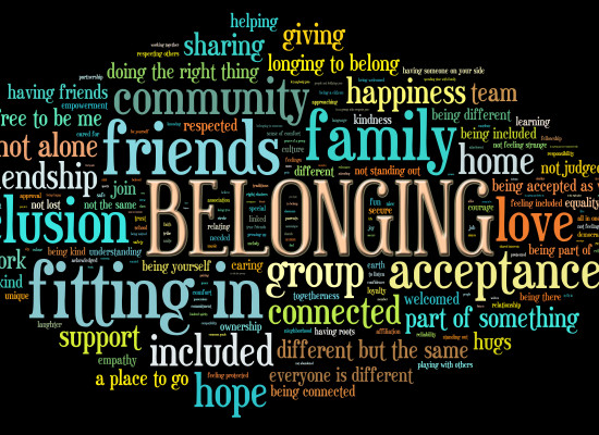 Year 1 Learn About 'Belonging'