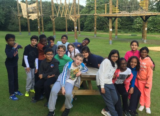 Shropshire Year 6 Residential Trip Day 1