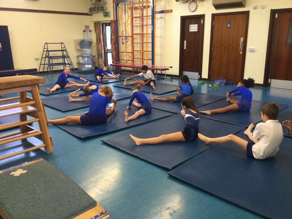 Year 5 Gymnastics Lesson Snaresbrook Prep School