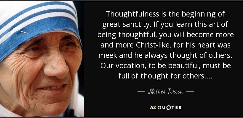 Spreading the Thoughtfulness Virus