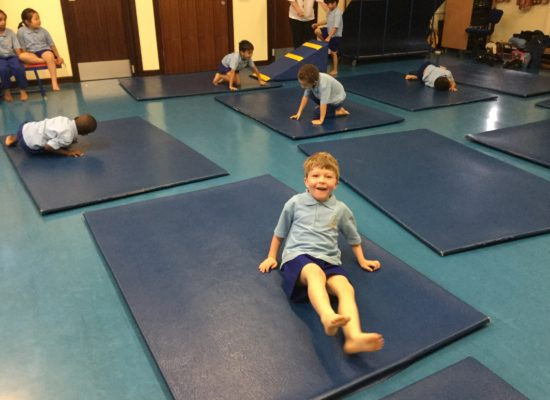 Reception Gymnastics