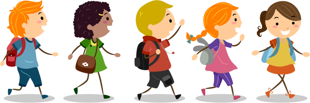 Students Walking Clipart | www.imgkid.com - The Image Kid ...