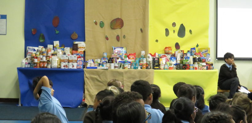 Harvest Collection in Aid of Redbridge Assessment Centre