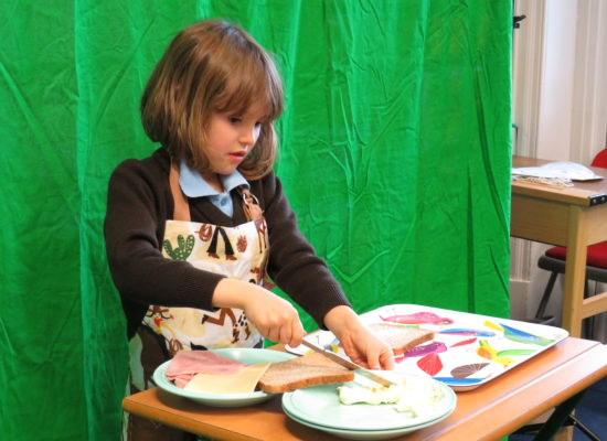 Mini Chefs – Year 1 Make Sandwiches