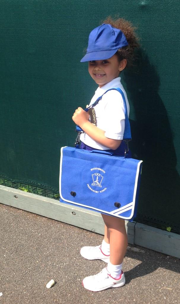 Snaresbrook Prep School new school bag